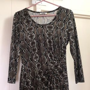 Calvin Klein long sleeve dress.